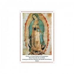 """Autocollants Rectangulaires - """"Notre-Dame de Guadalupe"""" - 8 pièces - Français"""