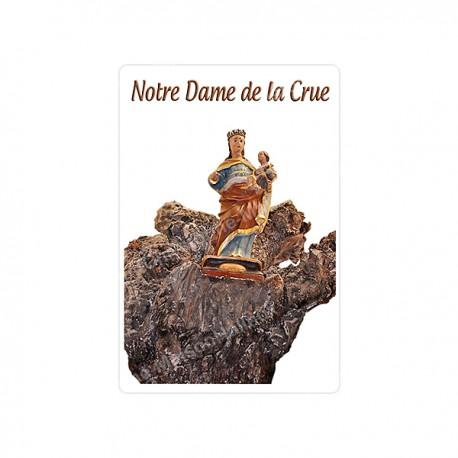 """Autocollants Rectangulaires - """"Notre-Dame de la Crue"""" - 8 pièces - Français"""