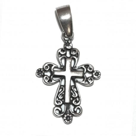 Croix Avec Christ Pendentif - Argent 925