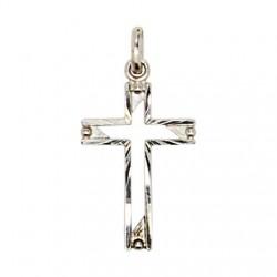 Croix découpée Pendentif - Argent 925