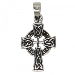 Croix Celtique Pendentif - Argent 925