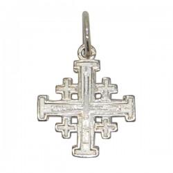 Croix Jérusalem Pendentif - Argent 925