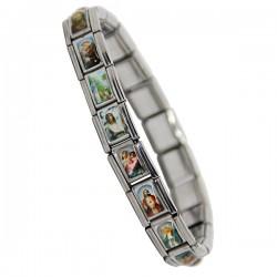 Bracelet Avec Saints Divers - Anti Allergique