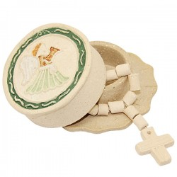 Dozen with Terracotta Angel  box