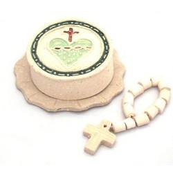 Dozen with Terracotta heart hope box