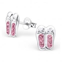 Earrings Ballerina - Crystal