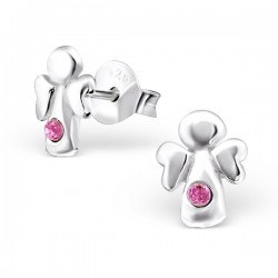 Angel Earrings - 925 Silver