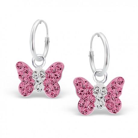 Boucles d'oreilles Ange - Argent 925