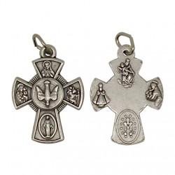 Croix Avec Pierre de Bethléem - Pendentif - 50 mm