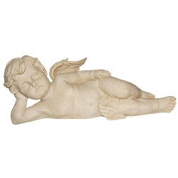 Angel Lying on the resin side