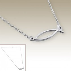 Fish necklace - Silver 925