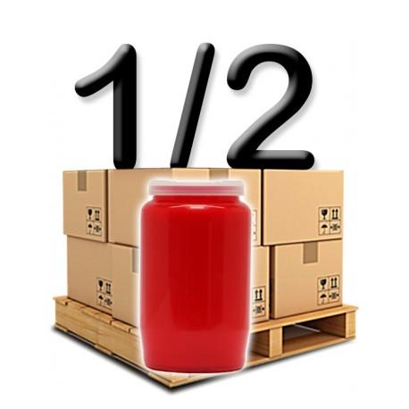 Bougies 3 jours - Rouges - Demi palette