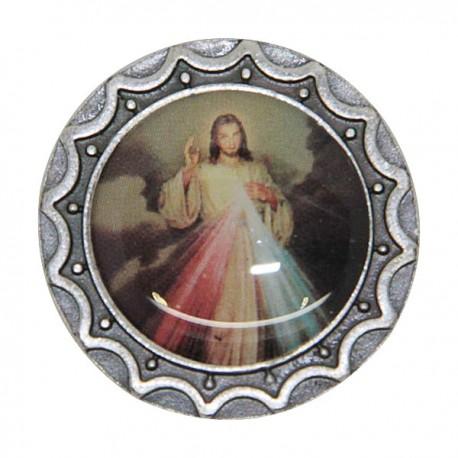 Christ Miséricordieux plaque magnétique