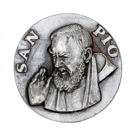 Saint Padre Pio  plaque magnétique