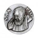 Saint Padre Pio magnetic plate