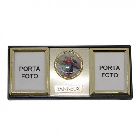 Saint Christophe plaque magnétique pour photos