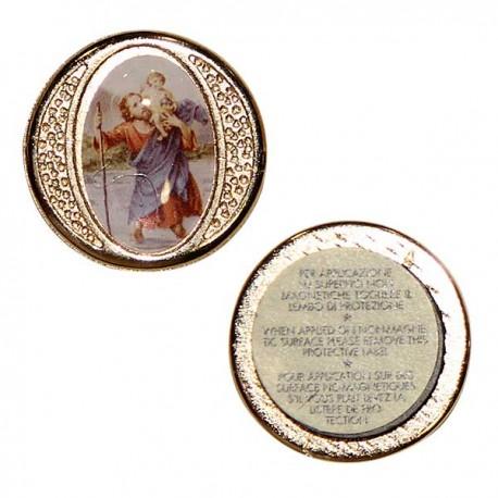 Saint Christophe plaque magnétique
