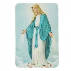 Plaque frigo à la Vierge Miraculeuse  - Magnétique