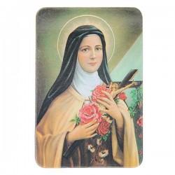 Plaque frigo de Sainte Thérèse  - Magnétique