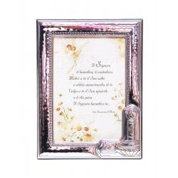 Photo Frame Baptism - in Silver - 9 x 13 cm