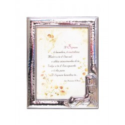 Photo Frame Confirmation - in Silver - 9 x 13 cm