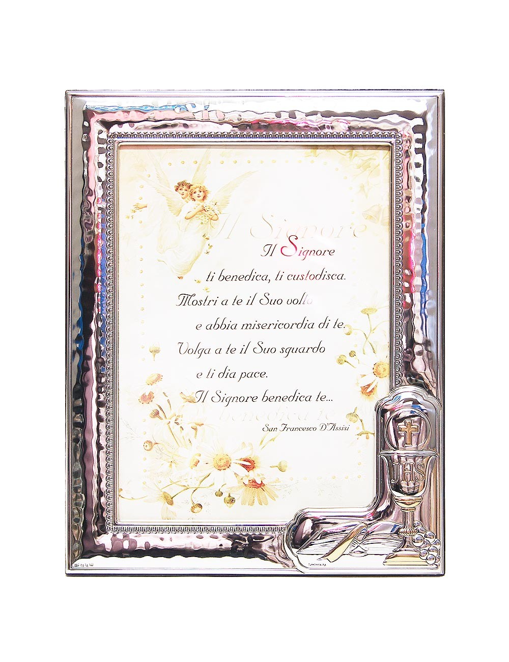 Photo Frame Confirmation - in Silver - 9 x 13 cm - Maison Halleux Pro