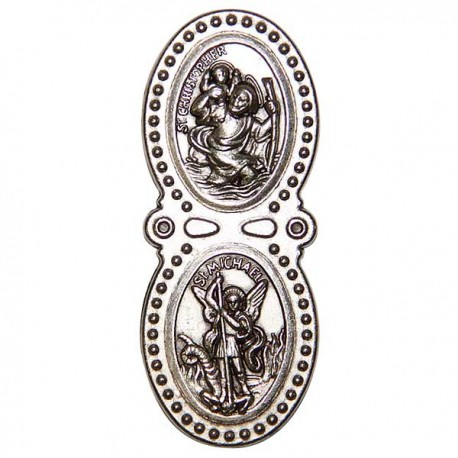 Saint Christophe et Saint Michel - magnétique frigo