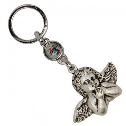 Keychains Angel of Michelangelo and St. Christopher