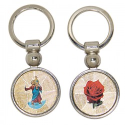 Keychains St. Christopher - pink