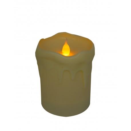 Bougies pour batteries - couleur blanc
