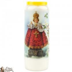 Bougies Neuvaines au Petit Jésus de Prague prière Français