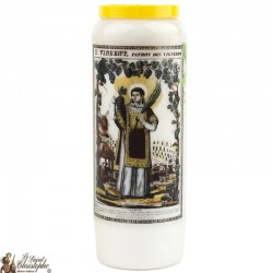 Candles Novenas to Saint 	Vin – French Prayer