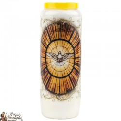 Candles Novenas to Holy Spirit model 1 – French Prayer