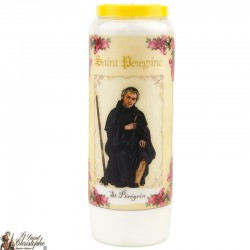 Candles Novenas to Saint peregrin	 - French Prayer