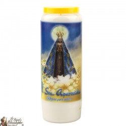Candles Novenas to Our Lady Aparecida - French Prayer