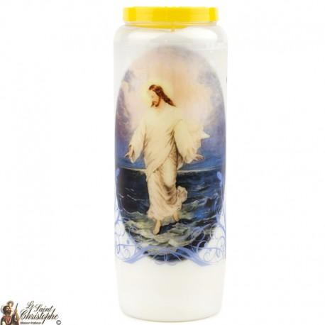 Bougies Neuvaines Jésus réssucité - prière Français