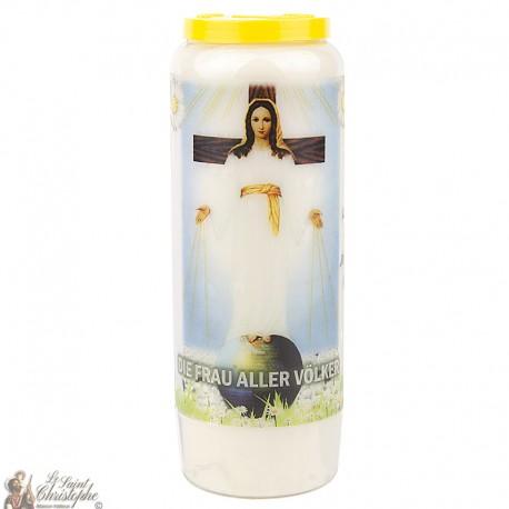 "Candles Novena - White - ""Archangel Saint Michael"" (French)"