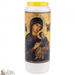 Bougies Neuvaines à Notre Dame du Perpétuel Secours - prière français