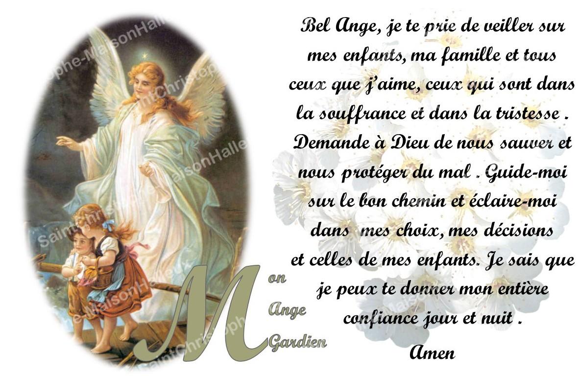 Autocollant bougie de neuvaine avec prière français - Mon Ange gardien -  Maison Halleux SPRL - Pour revendeurs
