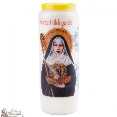 Bougies Neuvaines à Sainte Hildegarde - prière français
