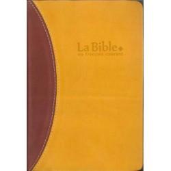 Bible en Français courant avec deutérocanoniques - Format Compact - Tranches Or