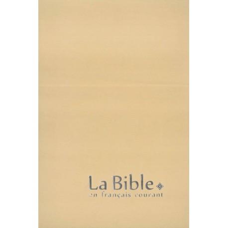 Bible en Français courant sans deutérocanoniques - Gros Caractères