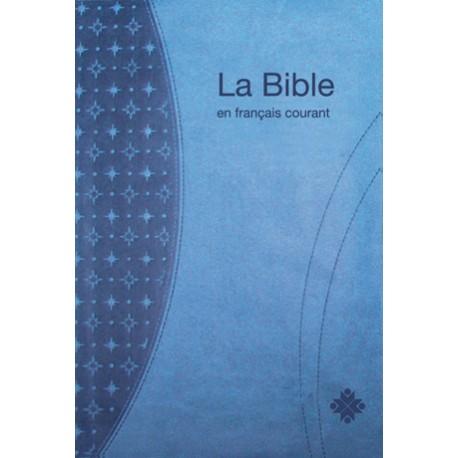 Bible en Français courant sans deutérocanoniques - Format Compact - Tranches Or