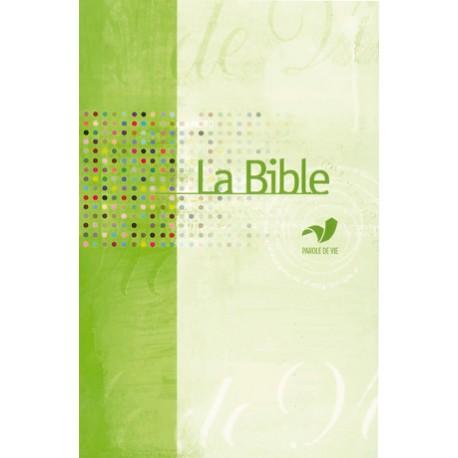 Bible parole de vie - Format agrandi - Protestante