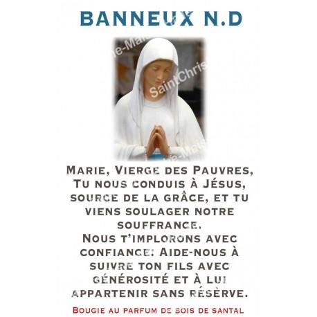 """Autocollants Rectangulaires - """"Banneux 2"""" - 8 pièces - Français"""