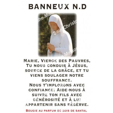 """Autocollants Rectangulaires - """"Banneux"""" - 8 pièces - Français"""