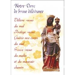 """Autocollants Rectangulaires - """"Notre-Dame de la bonne délivrance - 3"""" - 8 pièces - Français"""