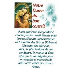 """Autocollants Rectangulaires - """"Notre-Dame du bon conseil - 2"""" - 8 pièces - Français"""
