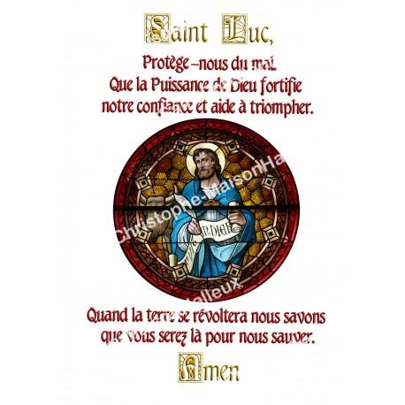 """Autocollants Rectangulaires - """"Saint Luc"""" - 8 pièces - Français"""