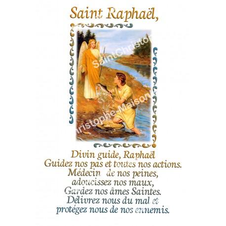 """Autocollants Rectangulaires - """"Saint Raphaël"""" - 8 pièces - Français"""